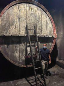 Stefano Marino and large barrel